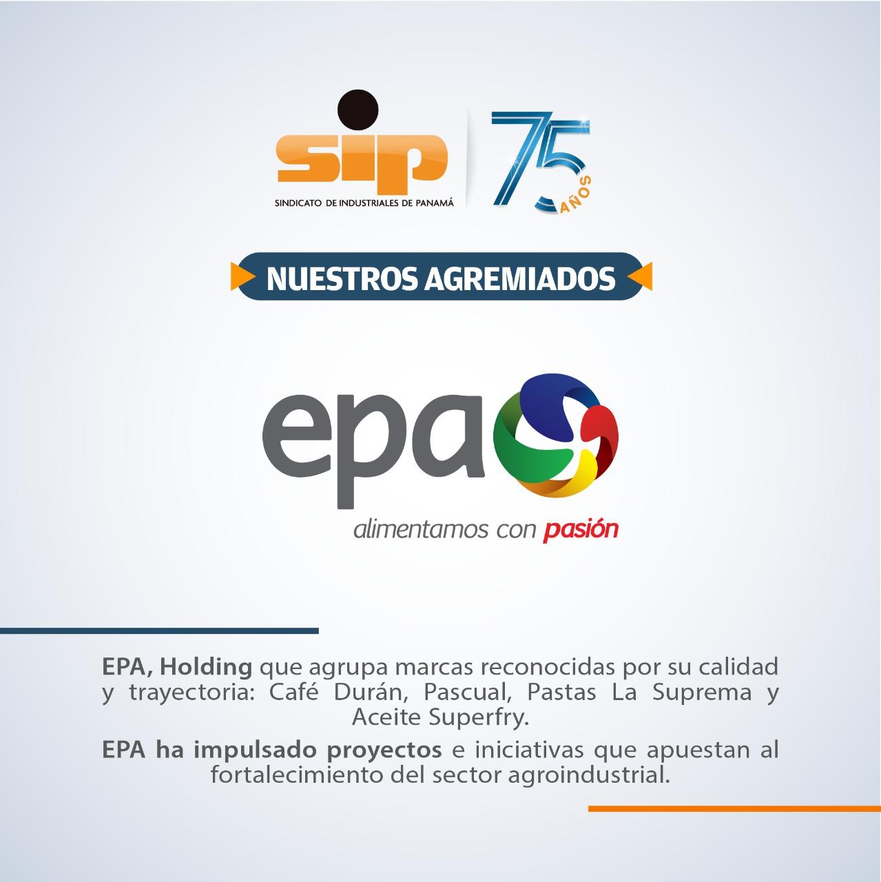 EPA, Holding